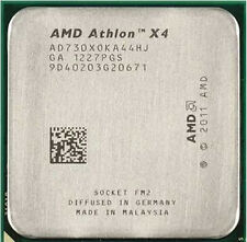 AMD Athlon II X4 730 Pieces CPU Quad Core FM2 Processor Tested