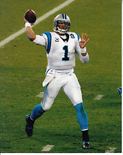 CAM NEWTON 8X10 PHOTO CAROLINA PANTHERS PICTURE NFL FOOTBALL PASSING