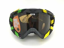 SPY+ Optic ZED Snow Goggle 311019736070 Black/Neon w/ (2) Bronze/Persimmon Lens