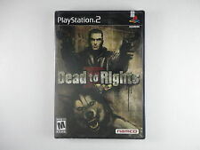 BRAND NEW  ¤ Dead to Rights II ¤ Factory Sealed PlayStation 2 PS2