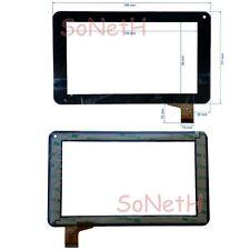 """Vetro Touch screen Digitizer 7,0"""" TPT-070-179F TYF1039V3 YCF0119-A ZP9020-7 Nero"""