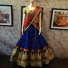 Best Selling Klash Blue New Fancy Designer Lehenga Choli for Girls & Women