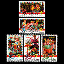 Malta 2001 - Carnival Traditions Culture - Sc 1036/40 MNH