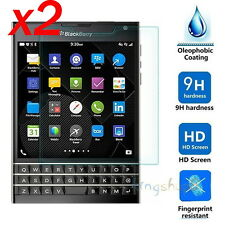 2x 9H Premium Tempered Glass Screen Film Protector For Blackberry Passport Q30