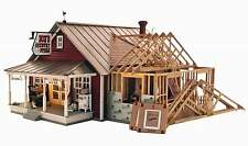WOODLAND SCENICS BUILT & READY COUNTRY STORE EXPANSION O SCALE BUILDING