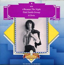 "Patti Smith Group ""Because The Night"" - U.K. Old Gold 45rpm Springsteen"