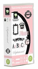 *New* SOPHISTICATED Font Letter Cricut Cartridge Factory Sealed Free Ship
