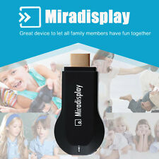 Miracast Wifi Display TV Dongle Receiver 1080P Wireless Chromecast AirPlay HDMI