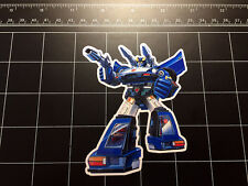 Transformers G1 Bluestreak box art vinyl decal sticker Autobot toy 1980's 80s