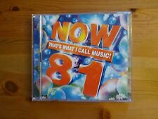 Now That's What I call Music 81 Double CD - Excellent condition