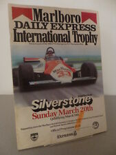 Silverstone Marlboro Daily Express Trophy Formula 2 Programme 20th March 1983