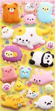Cute Kawaii SQUISHY Animal Stickers Japanese Stationery Alpaca Scrapbooking