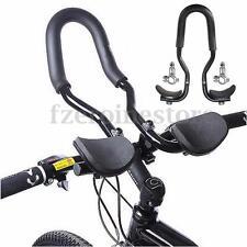 Bici Bicicleta Triatlón Aero resto Mango Bar Manillar Clip en Aleación Tri Barras Nuevo