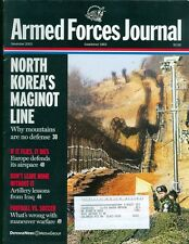 2003 Armed Forces Journal Magazine: North Korea's Maginot Line/Europe Airspace
