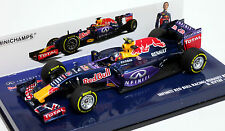 Minichamps 1/43 Infiniti Red Bull Racing Renault RB11 D. Kvyat 2015 417150026