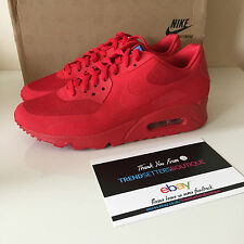 Nike air max 90 hyperfuse usa nous rouge 6.5 UK 6 indépendance 613841-660 2013 jour 7