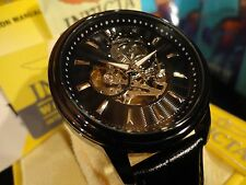 Invicta Men's 22580 Vintage Precise 20 Jewel Automatic Self Wind Black Watch NEW