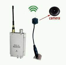 Podofo  Wireless Security Camera with Receiver Spy Pinhole Micro Cam Complete
