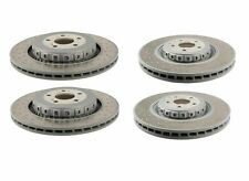 Mercedes W216 W221 CL63 CL65 S63 OEM Set of 2 Front + 2 Rear Disc Brake Rotors