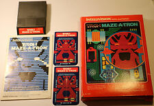 Tron Maze-A-Tron - Intellivision (Mattel 1982) BASED ON THE WALT DISNEY PICTURE