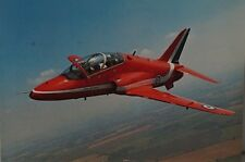 E.T.W Dennis & Sons The Red Arrows Hawk Royal Air Force Postcard