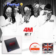 KPOP 4minute 4M Act 7 7th Mini album 'HATE' Hyuna CUBE Entertainment Korea CD