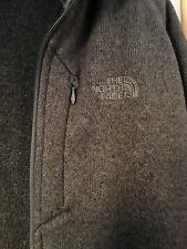 Genuine MEN'S The North Face Giacca in Pile Foderato Maglione-Medium (M/L) - Grigio