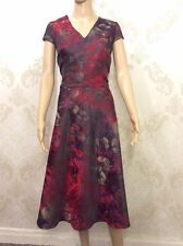 NEW M&S Per Una Ladies Multi Skater Dress, Women's Plus Size 18 Regular