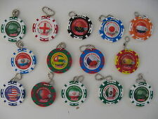 FIFA World Cup 2006 Germany Coca Cola Key Chain set of 14