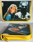 AMAZING VINTAGE RARE 1989 BATMAN DARK KNIGHT PENCIL CASE BAG DC NEW !!