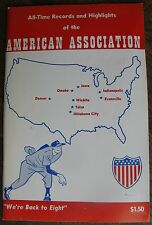 1970 American Association All-Time Records & Highlights
