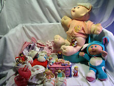 Lot 20+pcs VTG Coleco CABBAGE PATCH KIDS, Koosas, accessories, minis & more