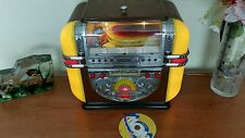 Jukebox Radio am/fm CD Player Stereo 1950 Retrò Vintage luci Spirit of St.Louis