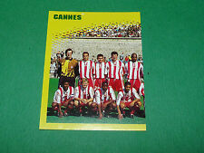 N°59 EQUIPE PART 1 AS CANNES ASC LA BOCCA PANINI FOOT 98 FOOTBALL 1997-1998