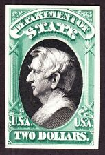 US O68P4 $2 State Department Proof on Card (003)