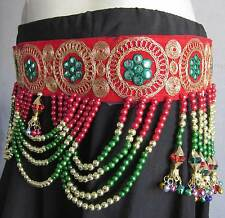 Kuchi Banjara Tassel BELT | Belly dance Gypsy Boho Vintage Skirt Costume Jewelry