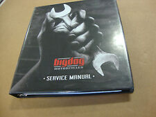 NEW BIG DOG MOTORCYCLE 2007 SERVICE MANUAL 8 CHAPTERS 3 RINGED BINDER BDM