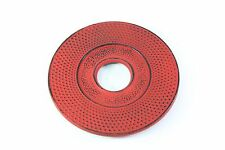 "5.25"" Inch Round Red Dot Japanese Cast Iron Trivet for Teapot"