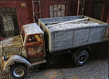 WWII RC Opel Blitz LKW Truck Modell Bausatz Pritsche Ladefläche Zubehör 1/16