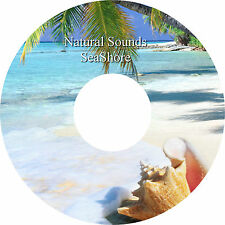 Natural Sounds Seashore on CD - Relaxation Deep Sleep Stress & Anxiety Relief