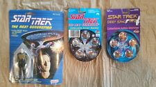 1988 Galoob Star Trek Next Generation Data Figure 1993 Deep Space Nine Marbles