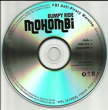 MOHOMBI Bumby Ride w/ RARE RADIO TRK & INSTRUMENTAL PROMO DJ CD single 2010