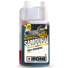 Huile IPONE SAMOURAI 2T 100% Synthese 1L Honda CR 85 125 250 Moto cross enduro