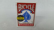 Sealed Bicycle Standard Rider Back 808 Poker Playing Cards - Red Deck