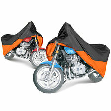XL Orange MOTORCYCLE STORAGE COVER FOR HARLEY FATBOY / FXD / V-ROD / XL883