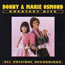 Donny & Marie Osmond - Greatest Hits (CD, Curb) Morning Side of the Mountain