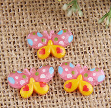 12pcs Resin butterfly flatback Scrapbooking For DIY phone /craft