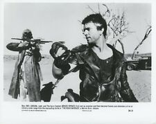 MEL GIBSON  BRUCE SPENCE MAD MAX 2 THE ROAD WARRIOR 1981 VINTAGE PHOTO #4
