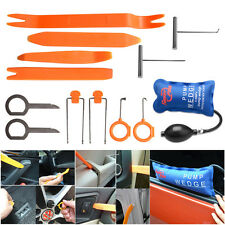 13pc Pump Wedge Auto Panel Removal Open Pry Tools Kit Dash Door Radio Trim Panel