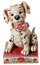 Disney Traditions Lucky In Love Lucky Dog Figurine Ornament 12.5cm 4026083 New